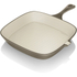 Tower IDT90006 Cast Iron Square Grill Pan - Latte - 24cm: Image 1
