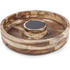 Natural Life NLAS005 Acacia Chip & Dip with Slate Plate: Image 1