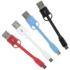 Kit USB to Micro USB Keyring Data & Charge Cable - Black: Image 5