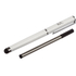 Kit 2-In-1 Stylus with Pen and Extra Spare Cartridge - Silver: Image 1