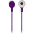KitSound Entry Mini Earphones With In-Line Mic  - Purple: Image 3