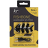 KitSound Fishbone Shaped Headphones Splitter - Black: Image 4