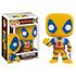 Marvel Deadpool Yellow Costume Pop! Vinyl Bobble Head: Image 1