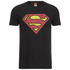 DC Comics Superman Distress Logo Herren T-Shirt - Schwarz: Image 1