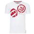 Crosshatch Men's Arowana Print T-Shirt - White: Image 1