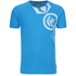 Crosshatch Men's Pacific Print T-Shirt - Blue Danube: Image 1