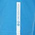 Crosshatch Men's Pacific Print T-Shirt - Blue Danube: Image 3