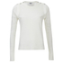 Sonia by Sonia Rykiel Women's Sailor Detail Long Sleeve Top - White: Image 1