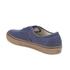 Vans Men's Authentic Washed Canvas Trainers - Dress Blues/Gum: Image 5