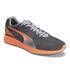 Puma Men's Ignite Mesh Running Trainers - Grey/Orange: Image 4
