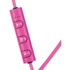 Mixx  Play 1 Bluetooth Sports Earphones Including Mic & In-Line Remote - Pink: Image 2