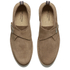 Selected Homme Men's Royce Suede Monk Shoes - Tan: Image 2