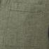 Selected Homme Men's None Trent Solid Long Sleeve Shirt - Olive Night Melange: Image 3