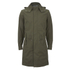 Selected Homme Men's Iconic Fishtail Parka - Olive Night: Image 1