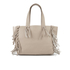 UGG Women's Lea Leather Fringed Tote Bag - Taupe: Image 1