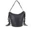 UGG Women's Lea Leather Hobo Bag - Black: Image 5