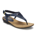 Lauren Ralph Lauren Women's Kally Leather Sandals - Modern Navy: Image 2
