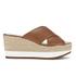 Lauren Ralph Lauren Women's Flatform Sandals - Polo Tan: Image 1