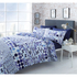 Catherine Lansfield Geo Spot Bedding Set - Blue: Image 1