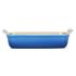 Le Creuset Stoneware Large Heritage Rectangular Roasting Dish - Marseille Blue: Image 2