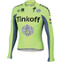 Tinkoff BodyFit Pro Thermal Long Sleeve Jersey 2016 - Yellow: Image 1