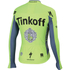 Tinkoff BodyFit Pro Thermal Long Sleeve Jersey 2016 - Yellow: Image 2