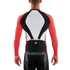 Skins Cycle Men's Tremola Due Long Sleeve Jersey - Black/White/Red: Image 2