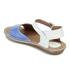 Clarks Women's Tustin Sinitta Leather Double Strap Sandals - Blue Combi: Image 6