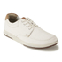 Clarks Men's Norwin Vibe Canvas Boat Shoes - Off White: Image 4