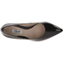 Clarks Women's Dinah Keer Leather Court Shoes - Black Patent: Image 2