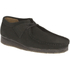 Clarks Originals Men's Wallabee Shoes - Black Suede: Image 2