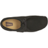 Clarks Originals Men's Wallabee Shoes - Black Suede: Image 3