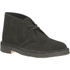 Clarks Originals Men's Desert Boots - Black Suede: Image 2