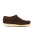 Clarks Originals Men's Wallabee Shoes - Dark Brown Suede: Image 1