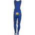 Etixx Quick-Step Bib Tights 2016 - Blue/Black: Image 3