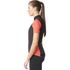 adidas Women's Supernova Ref Short Sleeve Jersey - Black/Shock Red: Image 4