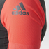 adidas Women's Supernova Ref Short Sleeve Jersey - Black/Shock Red: Image 6