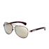 Calvin Klein Jeans Women's Aviator Sunglasses - Gold: Image 2