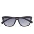 Calvin Klein Jeans Unisex Wayfarer Sunglasses - Black/Purple: Image 1