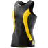 Skins DNAmic Men's Sleeveless Top - Black/Citron: Image 1