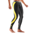 Skins DNAmic Men's Long Tights - Black/Citron: Image 5