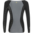 Skins DNAmic Women's Long Sleeve Top - Black/Limoncello: Image 4