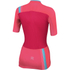 Sportful BodyFit Women's Short Sleeve Jersey - Pink/Blue: Image 2