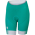 Sportful Gruppetto Women's Shorts - Green/White/Yellow: Image 1