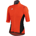 Sportful Fiandre Light NoRain Short Sleeve Jersey - Red/Black: Image 1