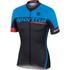 Sportful SC Team Short Sleeve Jersey - Black/Blue: Image 1
