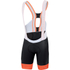 Sportful R&D SC Bib Shorts - Black/Red: Image 1
