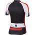 Sportful Gruppetto Children's Short Sleeve Jersey - Black/Red: Image 2