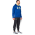 Under Armour Men's Storm Armour Fleece Big Logo Twist Hoody - Blue: Image 4