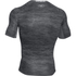 Under Armour Men's HeatGear CoolSwitch Compression Short Sleeve Shirt - Grey: Image 2